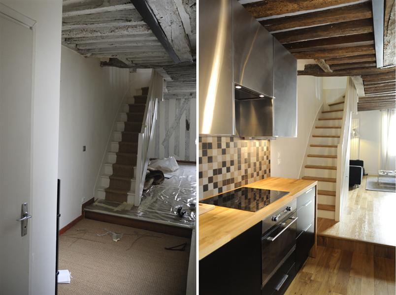 renovation maison interieur avant apres